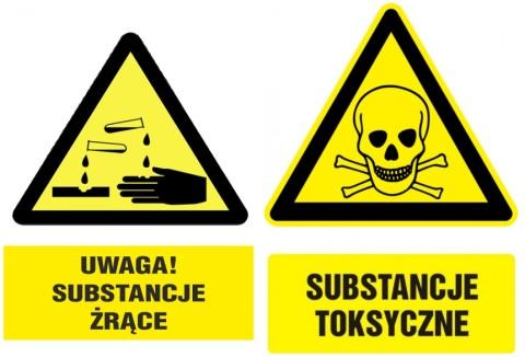 substancje żrące i toksyczne