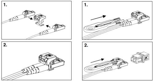 instrukcja blokady wtyku lc
